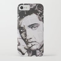 elvis iPhone & iPod Cases featuring Elvis by Ross Collins Artist