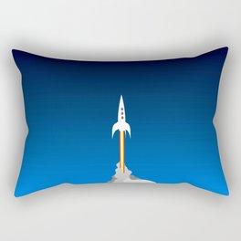Blast Off! Rectangular Pillow