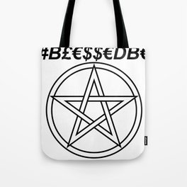 TRULY #BLESSEDBE INVERSE Tote Bag