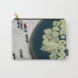 lily pads & people Carry-All Pouch