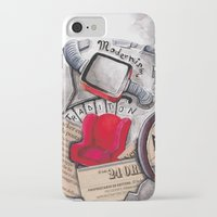 globe iPhone & iPod Cases featuring globe by Paradox