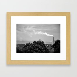 Smog Framed Art Print