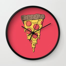 Pizza Party! Wall Clock