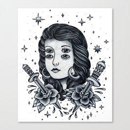 Doble. Canvas Print