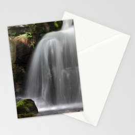 Waterfall at Lumsdale Mill Stationery Cards