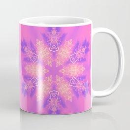 Alien pink snowflake Coffee Mug