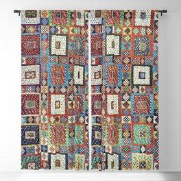Zili East Anatolia Antique Turkish Rug Print Blackout Curtain