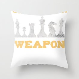 Chess Strategy Game Sport Gift Throw Pillow