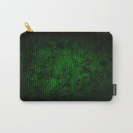 Reptile Skin Carry-All Pouch