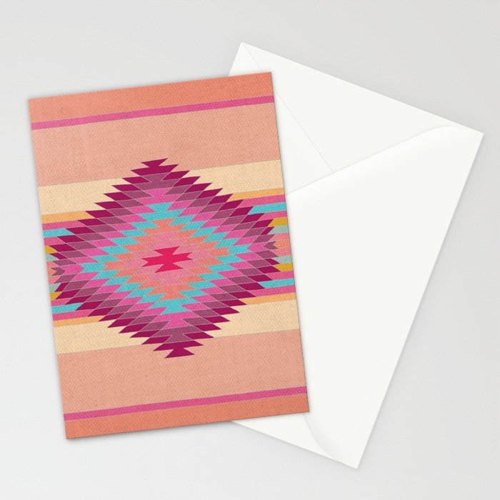 FIESTA (pink) Stationery Cards