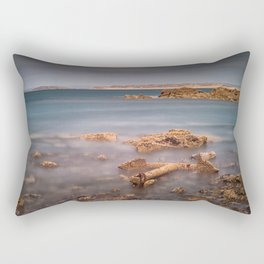 Barnacle covered anchor Rectangular Pillow