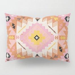 Tribal Kilim Orange Pillow Sham