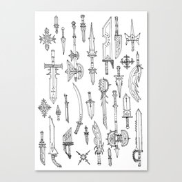 Mystic Weapons Canvas Print