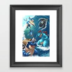 Hydro Pump Framed Art Print
