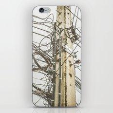 Electric pole iPhone & iPod Skin