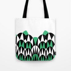 Modern Day Arches Green Tote Bag