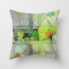 hyedra wall Throw Pillow