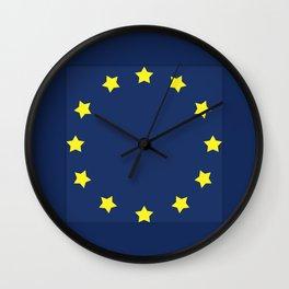 The European   Union Wall Clock