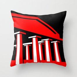 Parthenon Throw Pillow