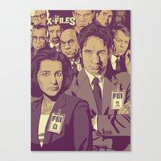 THE X-FILES v1 Canvas Print