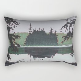 Ouse Lake, Algonquin Park Rectangular Pillow