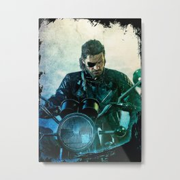 Metal Gear series Metal Print