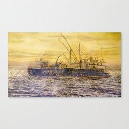 58° 73'N 151° 01'W Canvas Print