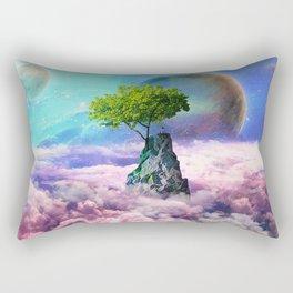 spectator of worlds Rectangular Pillow