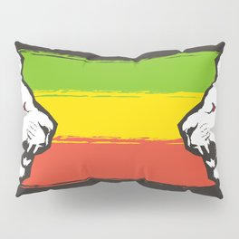 Rasta Lions (The Kingdom) Pillow Sham