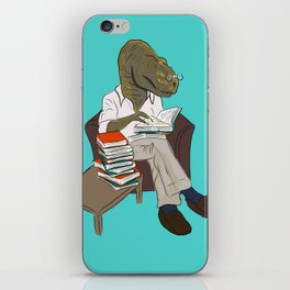 Professor Dinosaur iPhone Skin