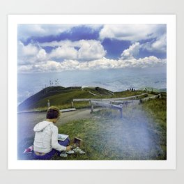 Quito Painter Art Print