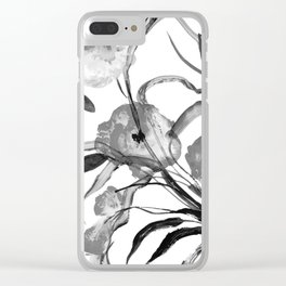 Flowers -a101 Clear iPhone Case