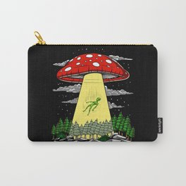 Alien Abduction Magic Mushrooms Psychedelic UFO Carry-All Pouch