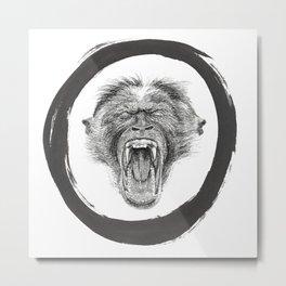 Monkey Buisness Metal Print