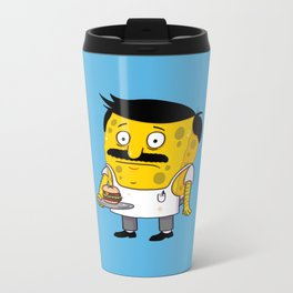 SpongeBob's Burgers Metal Travel Mug