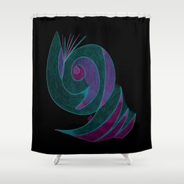 Aura III Shower Curtain