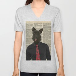Sir Scottie Unisex V-Neck