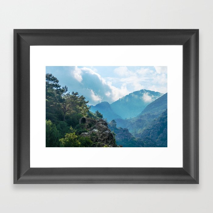 Nature's Temple Framed Art Print