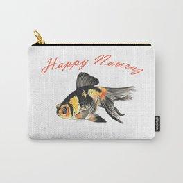 Happy Nowruz Demekin Goldfish Persian New Year Carry-All Pouch