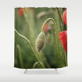 flower photography by Skyla Design Shower Curtain