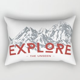 EXPLORE THE UNSEEN Rectangular Pillow