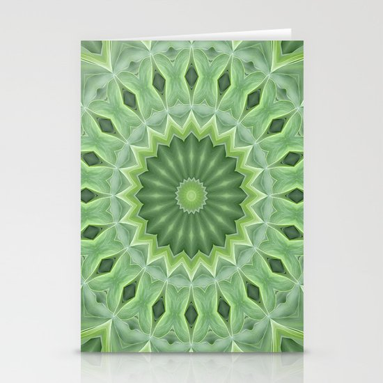 Green Beauty Stationery Cards