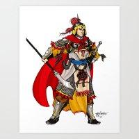 Tang General Art Print
