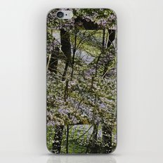 STILLNESS IS A VIRGIN WOOD II iPhone & iPod Skin