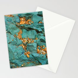 Gold and Copper Stationery Cards