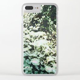 Hosta and Ivy on a Hill Clear iPhone Case