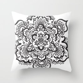 MAGIC MANDALA Throw Pillow