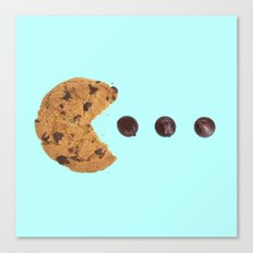 PACKMAN COOKIE Canvas Print