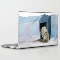 bears Laptop & iPad Skins featuring Bears by Elena Napoli