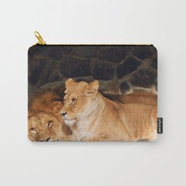 Zoo animals in cages and aviaries Carry-All Pouch